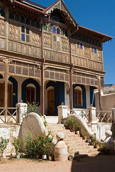 The former house of the poet Rimbaud in Harar - Ethiopia.
