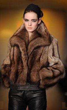 fisher fur jacket