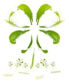 four leaf clover Tattoo Designs | pin four leaved clover tattoo designs tattoos on pinterest