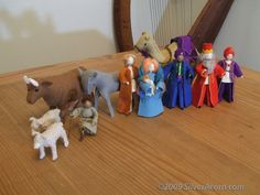 Felt Nativity Set - SilverAcorn.com