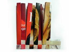 woven magazine coasters