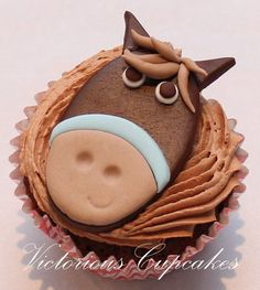Farmyard cupcakes - by VictoriousCupcakes @ CakesDecor.com - cake decorating website