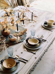 elegant desert table