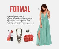 Formal Outfit Wedding Guide