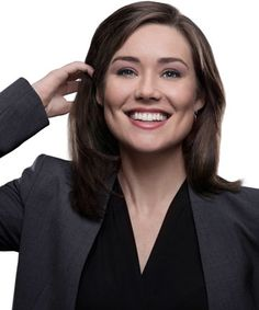 The Blacklist's first season turned actress Megan Boone's world upside down. Megan Boone, Elizabeth Keen, The Blacklist, James Spader, Hollywood Actor, Tv On The Radio, Back To Black, Role Models, Actresses