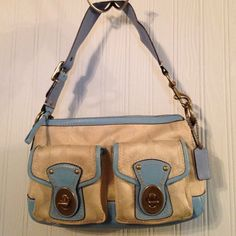 Coach Shoulder Bag This is in great loved condition! It is 100% Authentic. I have had this for a few years but I think it is finally time to buy another one! Coach Bags Shoulder Bags