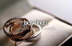 Buy Rings - 7/11/13 (Hannah) & 28/3/14 (Mike)