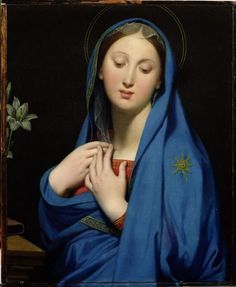 Jean-Auguste-Dominique Ingres  Virgin of the Adoption (1858)  National Gallery of Victoria, Melbourne