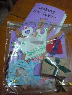 Advent mystery for the kids to put together, love this idea!