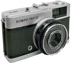 Olympus Trip 35, great stuff! I bought one of these on the way to the hospital when Jeanne was born! [18/08/1980]