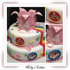 K3 taart #k3 #taart #cake