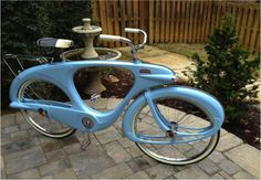 Spacelander, the very first electric bicicle (1946) - #bike #green #smart #design #vintage #retro
