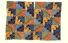 Ancient Peruavian Textiles: This spectacular tunic is made of 120 separate small pieces of cloth. The pieces were probably woven in strips , and each one was tie-dyed in one of six different color combinations and two patterns: either three rows of small circles or of two larger circles. The scaffold yarns were then removed to separate the individual pieces of cloth, which were reassembled into a tunic by sewing the pieces back together. The patterns on each individual piece form larger…