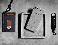 Luna Case, a concrete skin for your iPhone 5 l #concrete #case