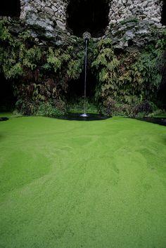 Fountain in Villa Lante, Bagnaia, Viterbo, Italy #gardens #gardendesign #landscapes