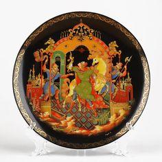 Golden Bridle Souvenir Plate