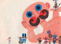 The Stranger - illustrated by Kjell Ringi