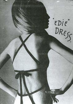 1960s: Betsey Johnson's Edie Dress, inspired by the company's first fit model, Edie Sedgwick.