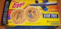 Star Trek Eggo Waffles - Yum