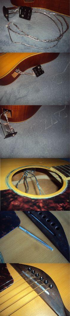 Blindagem, forração em alumínio em violão! - Oficina das Guitarras Mozart