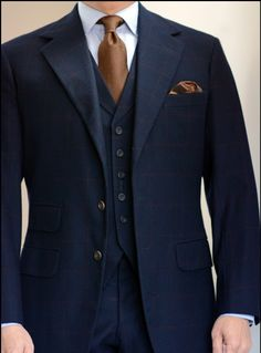 Steed: this esteemed Savile Row tailor can be trusted to create the perfect suit - for you, and no one else.