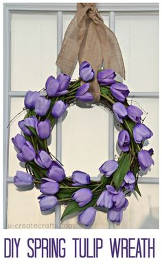 DownEast Home: Easy Spring Wreaths