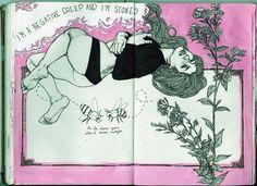Patricia Grullon – art journal 8 pages Patricia Grullon – Kunstjournal 8 Seiten Sketchbook Art And Illustration, Illustrations, Kunstjournal Inspiration, Sketchbook Inspiration, Arte Sketchbook, Sketchbook Pages, Kunst Inspo, Art Inspo, Moleskine
