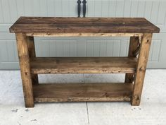 X Console Table - Handmade Haven