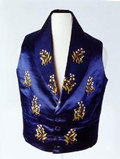 waistcoat 1851-60