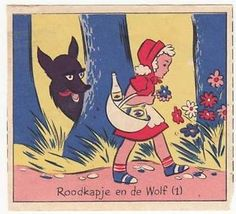 Petit-Chaperon-Rouge-Little-Red-Riding-Hood-Perrault-CONTE-Fairy-Tale-CHROMO