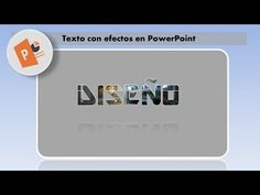 EFECTOS EN TEXTOS CON POWERPOINT - YouTube Spin, Digital Marketing, Software, Words, School, Texts, Social Networks, Blue Prints, Cake Recipes