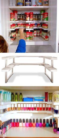 Spicy Shelf diy craft storage crafts shelf diy crafts do it yourself diy projects organization organization ideas organization and storage