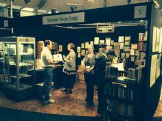 Stand at recent Sydney ANZAAB Rare Book Fair.