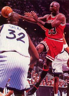 MJ & Shaq
