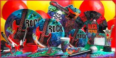 Image detail for -Rock Star Party Supplies - King Party Center