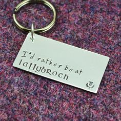 Lallybroch Key Chain
