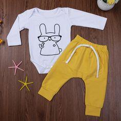 3d815fdbfb2c Rabbit Jumpsuit + Pants. Pant Romper OutfitPant JumpsuitBaby BoysKids  GirlsNewborn OutfitsBaby ...