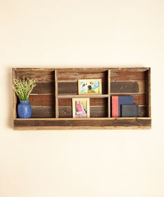 Look at this Farmhouse Shelf on #zulily today!