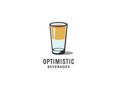 Optimistic Beverages #logo