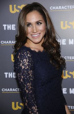 Actress Meghan Markle attends the USA Network and The Moth's Characters Unite Event at the Pacific Design Center in West Hollywood, California February 15, 2012. (REUTERS/Phil McCarten)  via @AOL_Lifestyle Read more: http://www.aol.com/article/entertainment/2016/12/12/prince-harrys-girlfriend-meghan-markle-describes-struggles-grow/21626365/?a_dgi=aolshare_pinterest#fullscreen