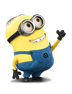 Despicable Me - Mike has two eyes and combed hair. Mike is sweet and nice to people. He also has an interest with kittens. His traits and characteristics are somewhat similar to Dave's. He is an obedient worker and very hardworking.