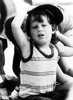 """3 year old Jim Jon """"Kimo"""" Prokes was sadly murdered during the Jonestown massacre on November His parents Carolyn Moore and Rev. Jim Jones died also, along with his aunt Annie Moore. Jonestown Massacre, Rainbow Family, Living In San Francisco, New West, Albert Camus, Marceline, Revolutionaries, Historical Photos"""