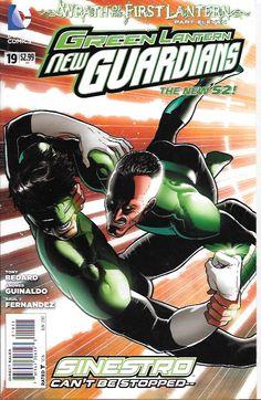 Green Lantern: New Guardians # 19 DC Comics The New 52!