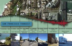 A Transect I created for San Francisco #SFtransect