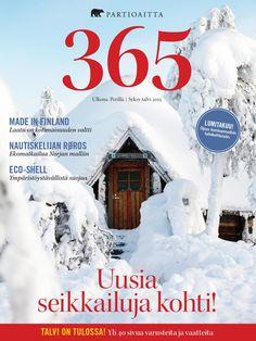 Partioaitta 365 #2 2015  365 on Partioaitan julkaisema outdoor-lehti. Ammattilaisten tuottaman toimituksellisen osion lisäksi se pitää sisällään laajan katsauksen tuotevalikoimaamme. 365:n artikkelit käsittelevät ulkoilua, elämyksiä ja luontoa. Lisäksi lehti tarjoaa osaavien retkeilijöiden ja erikoiskaupan ammattilaisten antamia hyviä vinkkejä muun muassa vaatteiden valintaan, jalkineiden hoitoon ja ulkoiluvarusteiden hankintaan.
