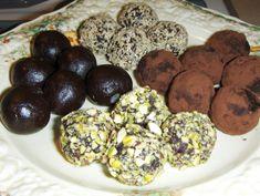 Mostly Raw Chocolate Truffles | rickiheller.com