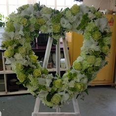 #funeralheart #funeral #floraldesign
