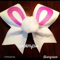 "cheer bow of the day. by @ohmybow ""Happy Easter"" #cheerbow #cheerbows #beautiful #cheer #cheerleading #cheerleader #cheerleaders #allstarcheer #allstarcheerleading #cheerislife #bows #hairbow #hairbows #bling #hairaccessories #bigbows #bigbow #teambows #fabricbows #hairclips #sparkle #instafashion #style #grosgrainribbon #fashion #style #pretty#ribbon #instacute"