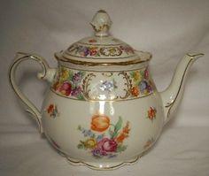 Schumann Bavaria 'Dresden Flowers' Tea Pot