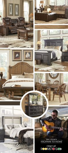 Browse the collection of furniture inspired by country music artist Eric Church, celebrating his music and lifestyle. A unique harmony of style and design. Shop now!